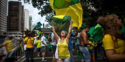 Él cuestionó el facto de Dilma de tener elegido los ministros José Eduardo Cardozo (Justicia) y Miguel Rossetto (Secretaría General de la Presidencia) como portavoces en el último domingo, durante las protestas. Foto: Getty Images