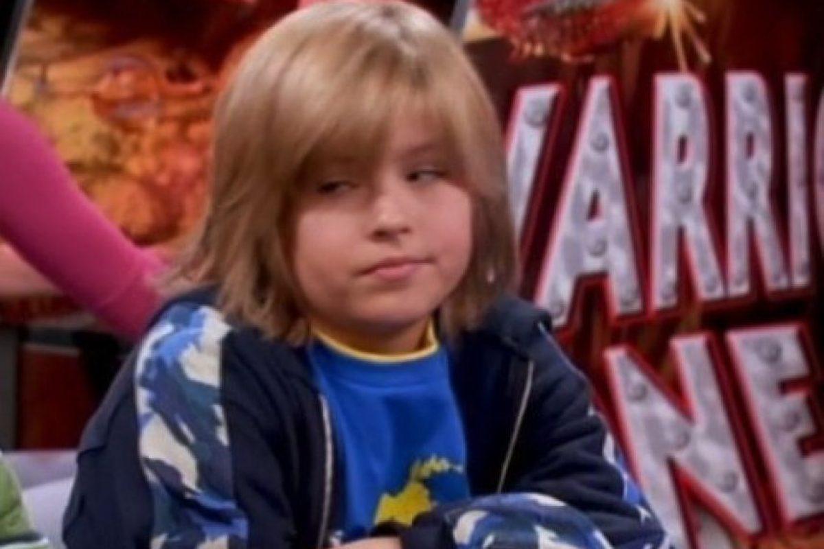 Dylan Sprouse interpretó a Zack, el más travieso de los gemelos. Foto:IMDB