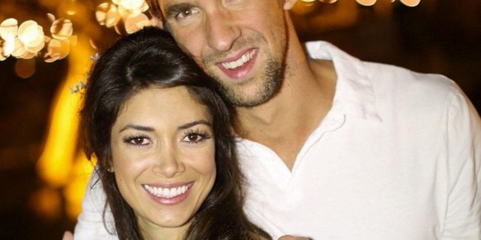 La confesión se da solo un mes después de que Phelps le haya pedido matrimonio a la modelo Nicole Johnson Foto:Instagram: @nicole.m.johnson