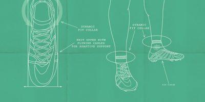 La tecnología de los Mercurial Superfly CR7. Foto:Nike