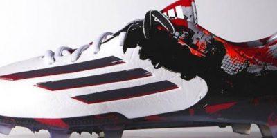 Pibe de barrio, los nuevos zapatos de Messi. Foto:Adidas