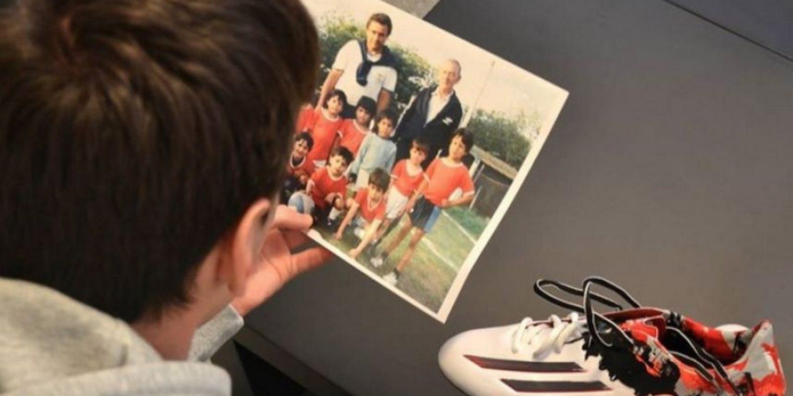 Messi orgulloso de ser un pibe de barrio. Foto:Adidas