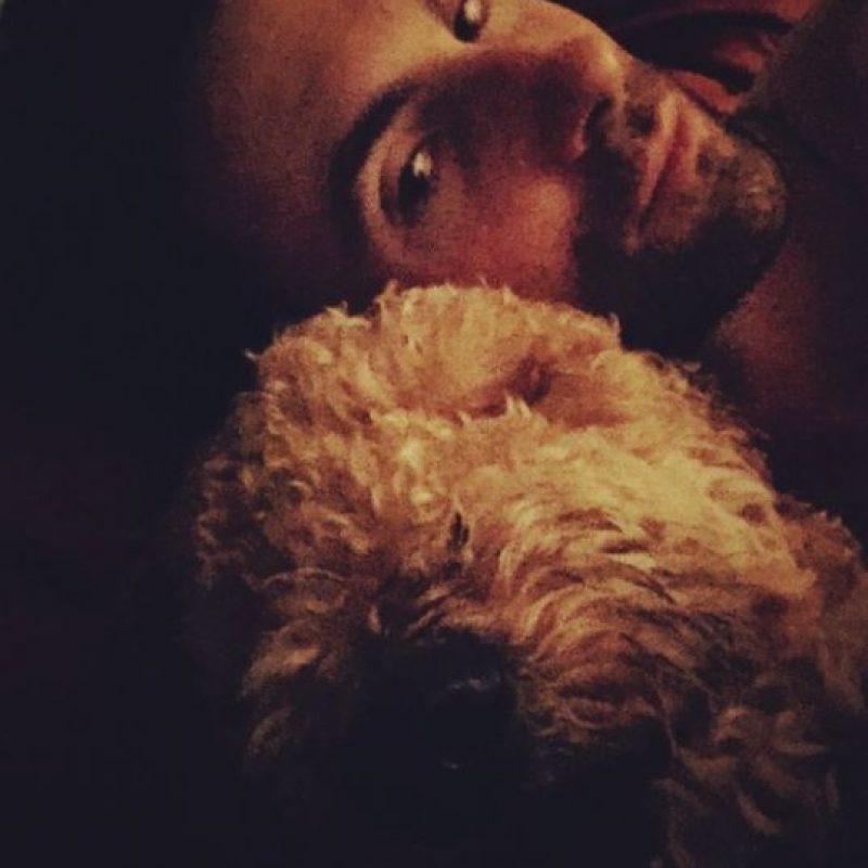 4.- Es un amante de los animales Foto:Instagram @adamlevine
