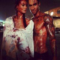 9.- O grabar un videoclip cubiertos de sangre Foto:Instagram @adamlevine