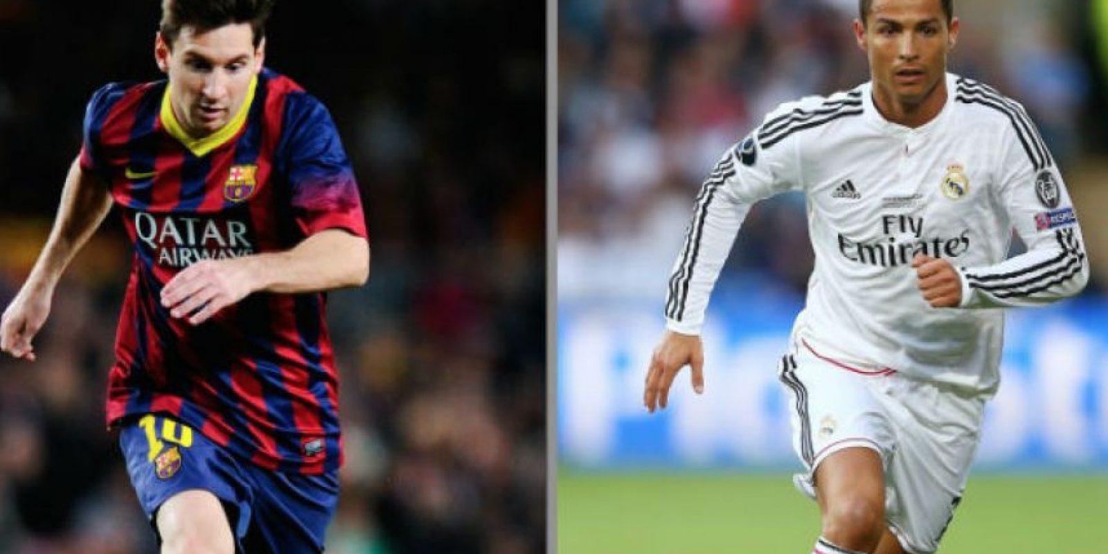 Messi y Cristiano Ronaldo estrenarán zapatos deportivos. Foto:Getty Images