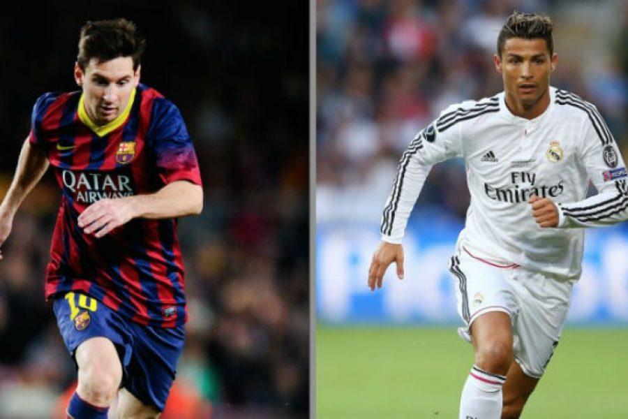 e91024927c499 FOTOS  Con estos zapatos jugarán Messi y Cristiano el clásico español