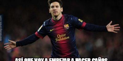 Usuarios celebran la cátedra de túneles de Messi en la Champions