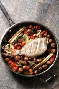 Este es el famoso Pez León al horno, una de las recetas más conocidas del chef colombo-austriaco Jorge Rausch Foto:Jorge Rausch/Facebook