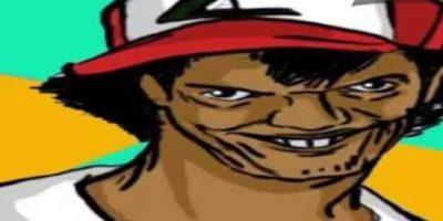 Esta versión temible y pervertida de Ash Ketchum, personaje de Pokemon, comenzó a ser usada como parodia en 2010 en sitios portugueses. Foto:Meme Generator
