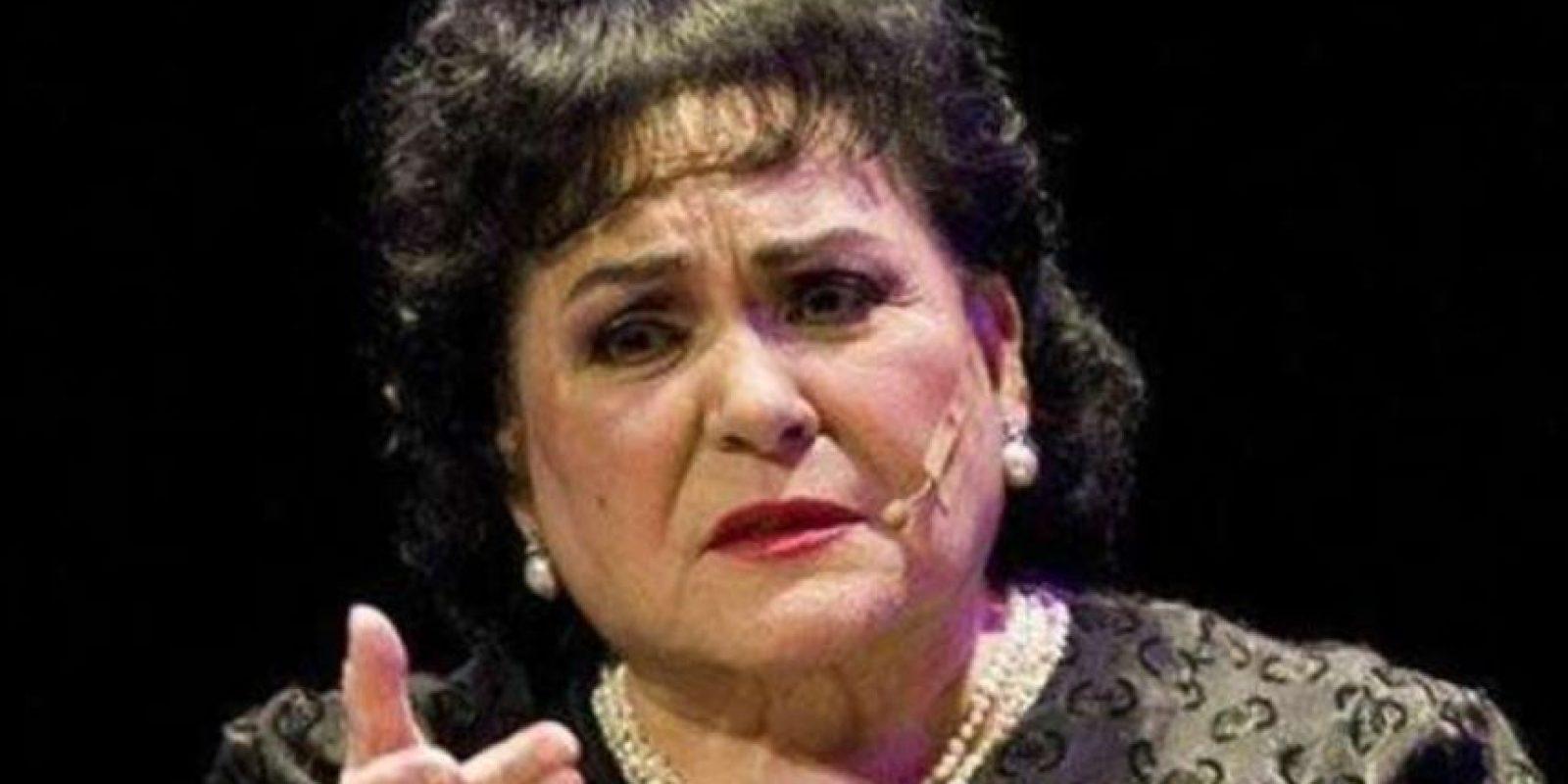 Carmen Salinas también es toda una generadora de memes. La actriz mexicana, ahora candidata a diputada, ya había hecho historia con uno en la web hace dos años. Foto:Generador de Memes
