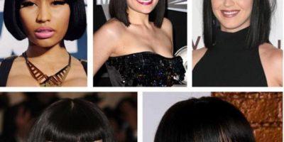 Incluso con Rihanna o Katy Perry, que también tuvieron el mismo bob. Foto:Twitter