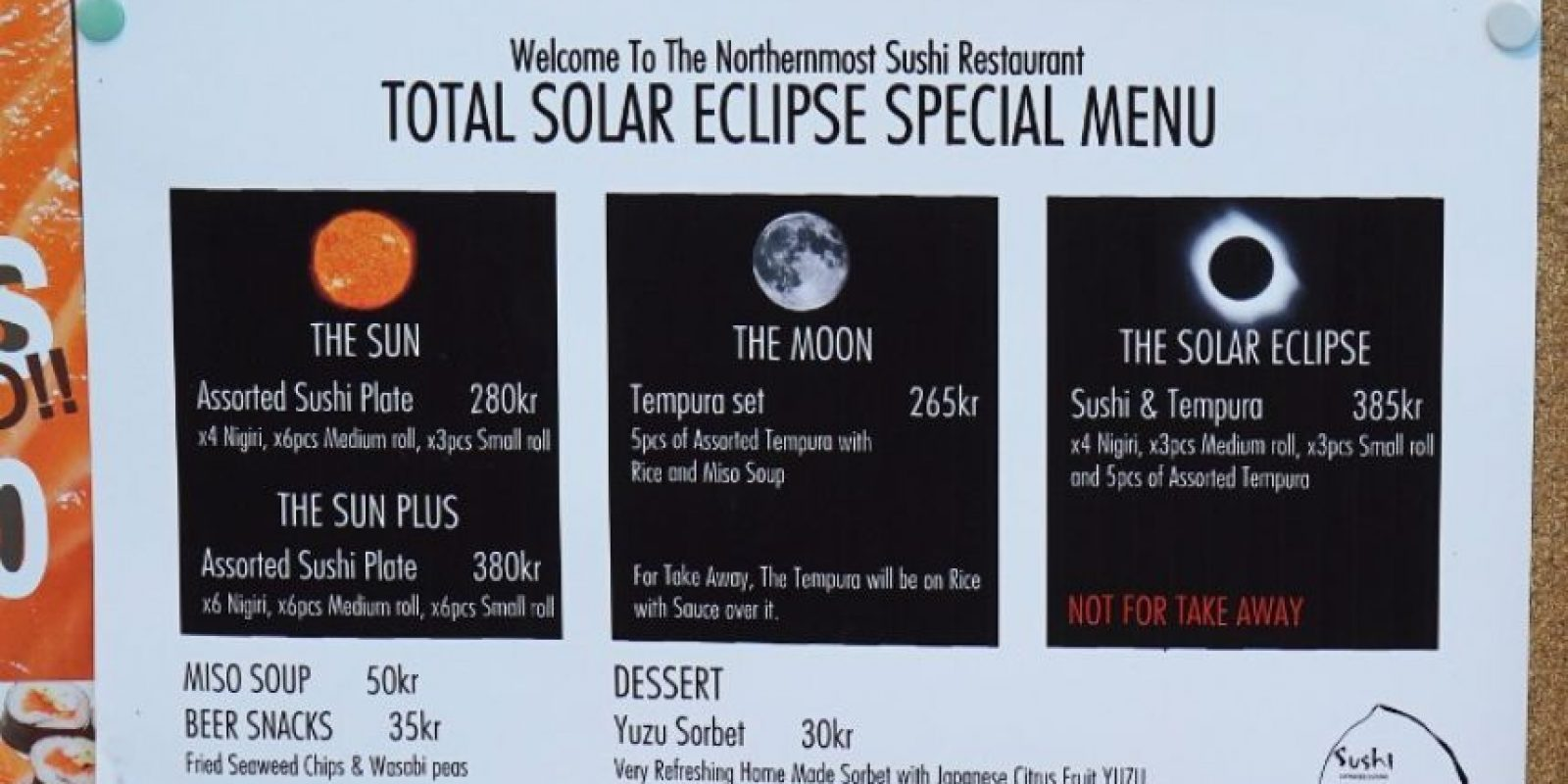 Los restaurantes ofrecen un menú especial Foto:AFP