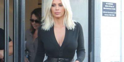 FOTOS. Kim Kardashian sale a la calle sin ropa interior