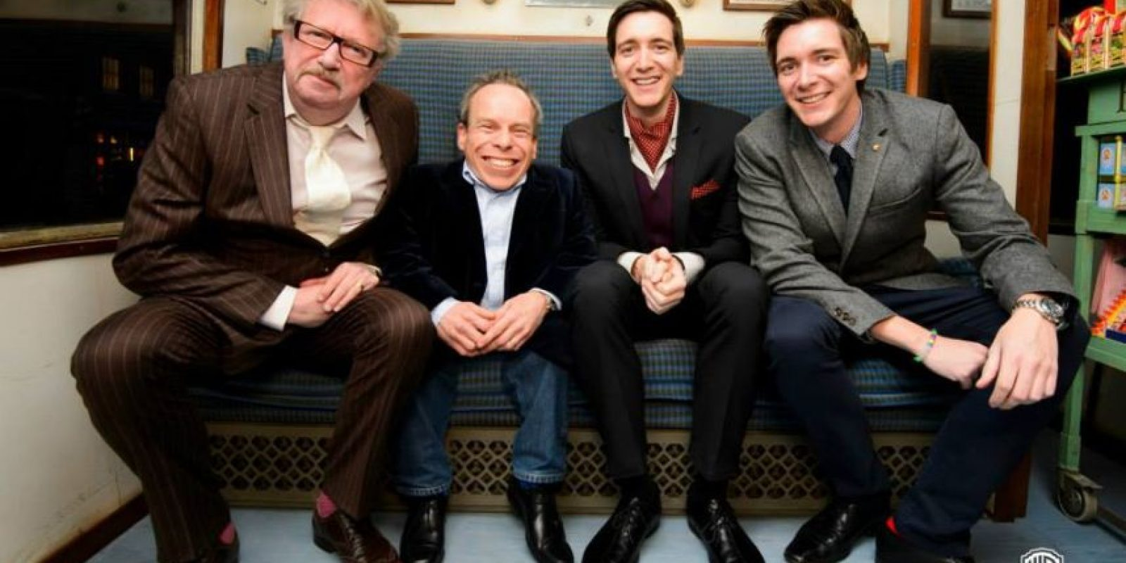 Mark Williams, Warwick Davis, James y Oliver Phelps Foto: Facebook/wbtourlondon