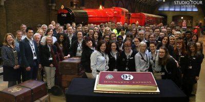 Inauguración del Hogwarts Express Foto:Facebook/wbtourlondon