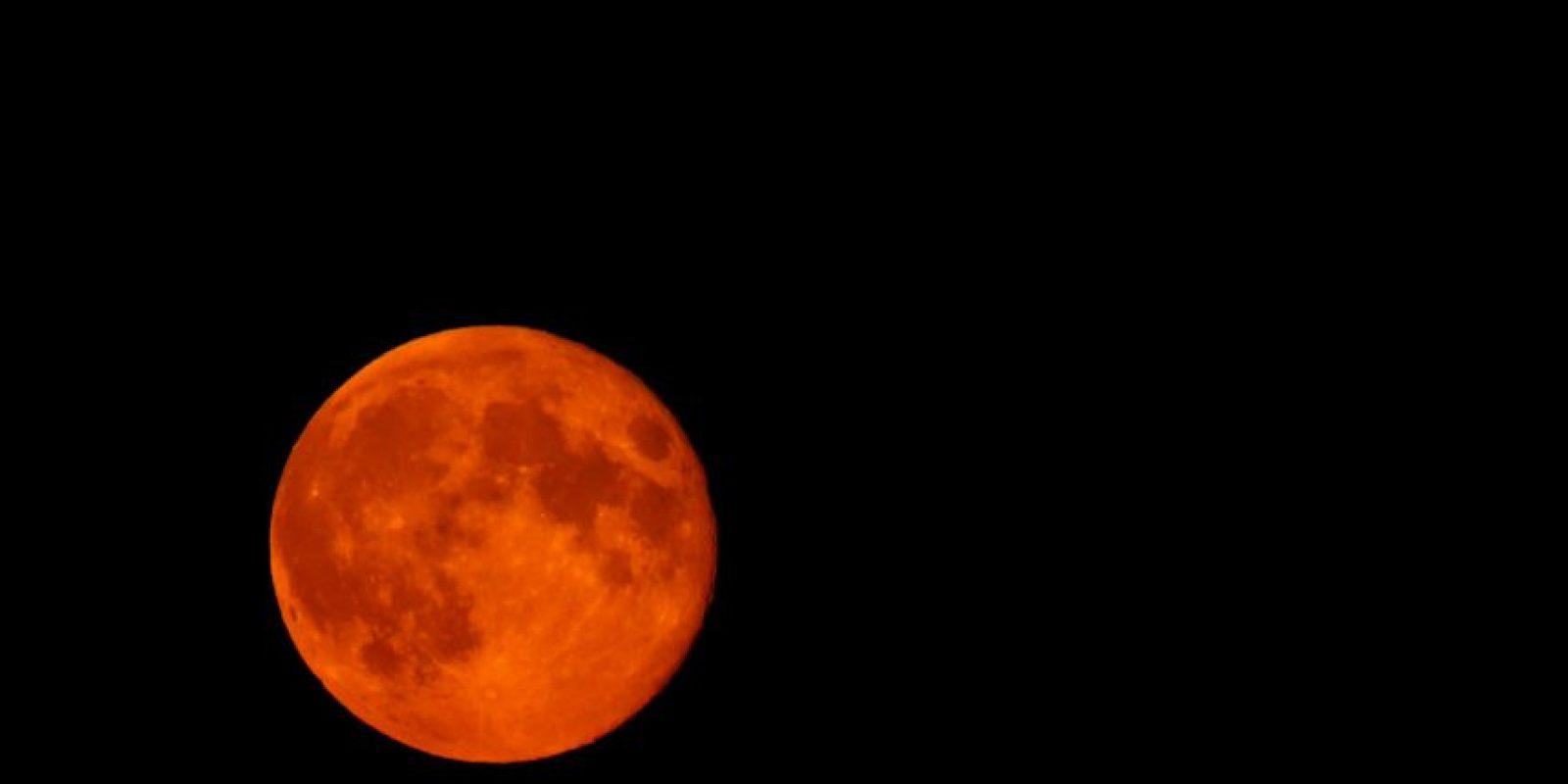 """El evento es conocido como """"Luna de sangre"""" o """"Luna roja"""" Foto:Getty Images"""