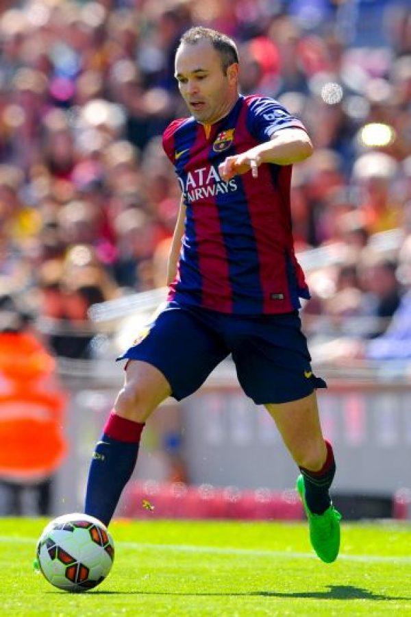 Y Andrés Iniesta Foto:Getty Images