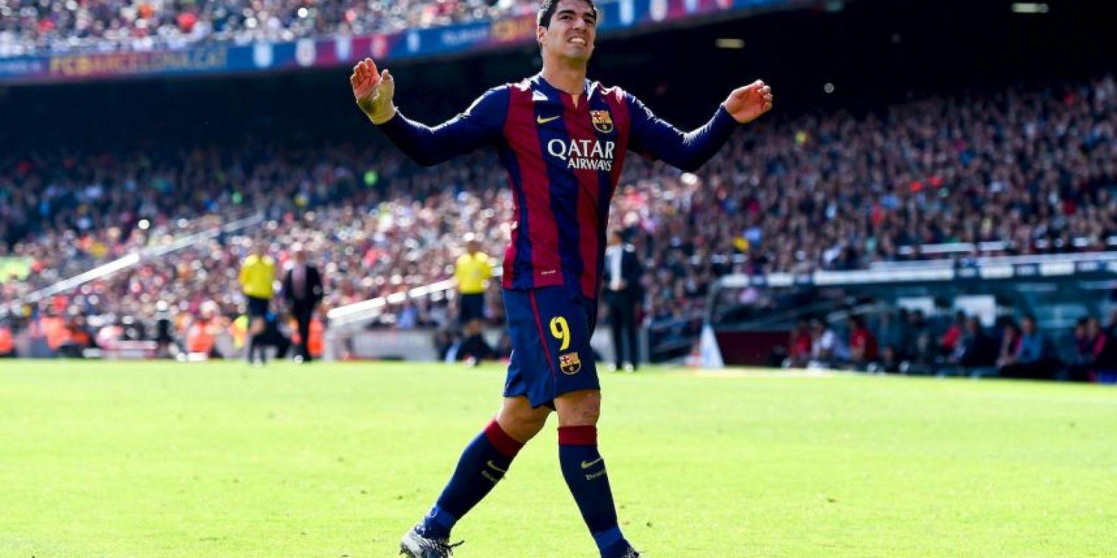 Y Luis Suárez Foto:Getty Images