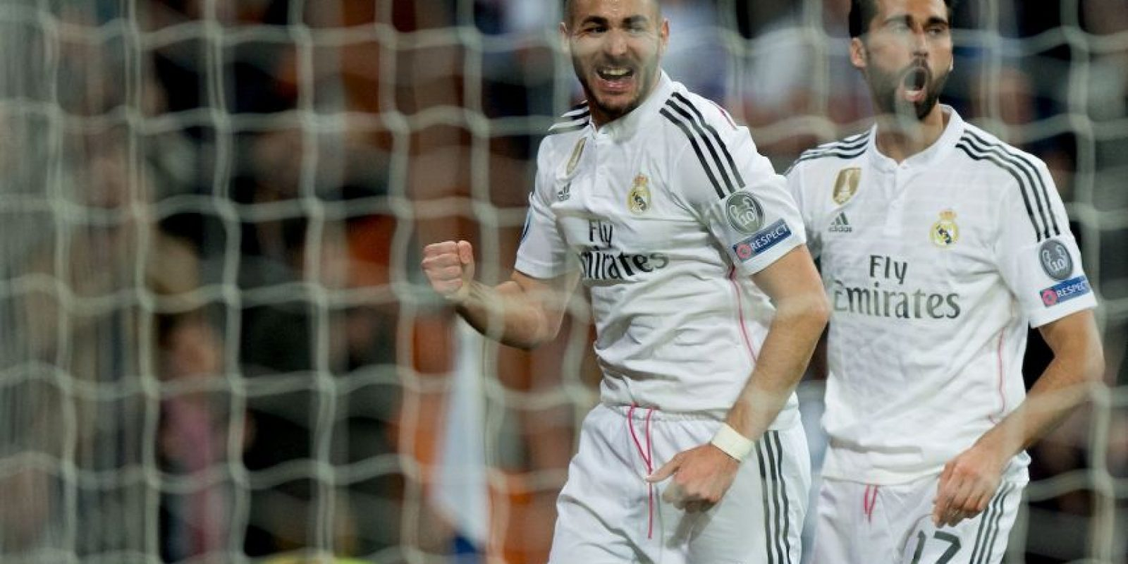 Karim Benzema se encuentra en el segundo lugar con 26 millones de anotaciones Foto:Getty Images