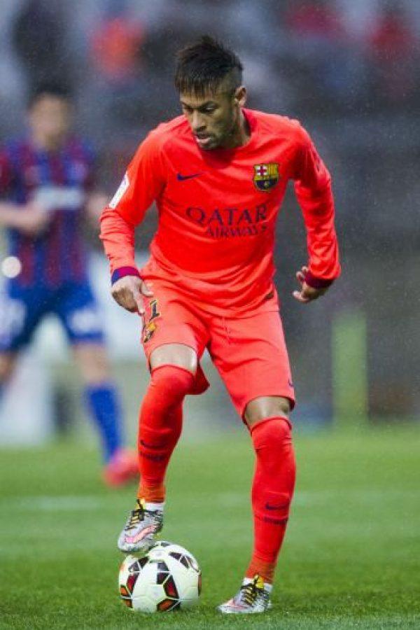 Y el tridente ofensivo estará formado por Neymar Foto:Getty Images