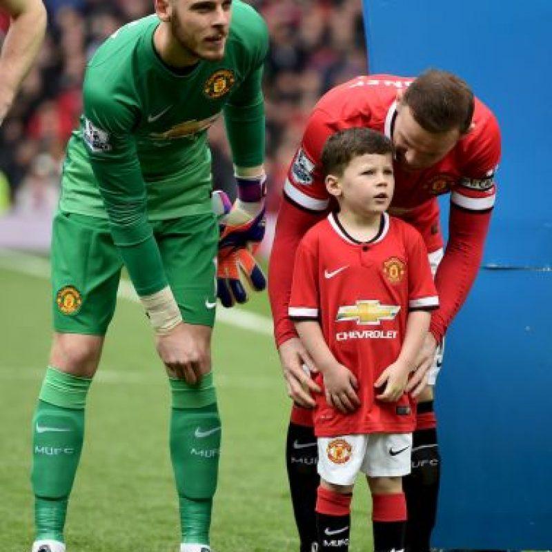 Rooney hablando con Kai. Foto:Getty Images