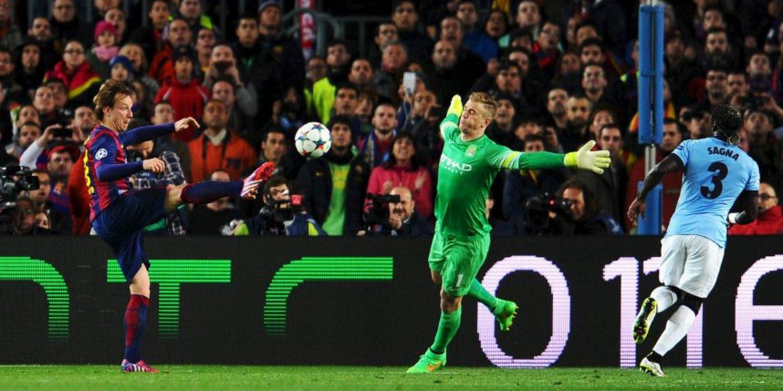 En el partido de vuelta solo permitió el tanto de Ivan Rakitic Foto:Getty Images