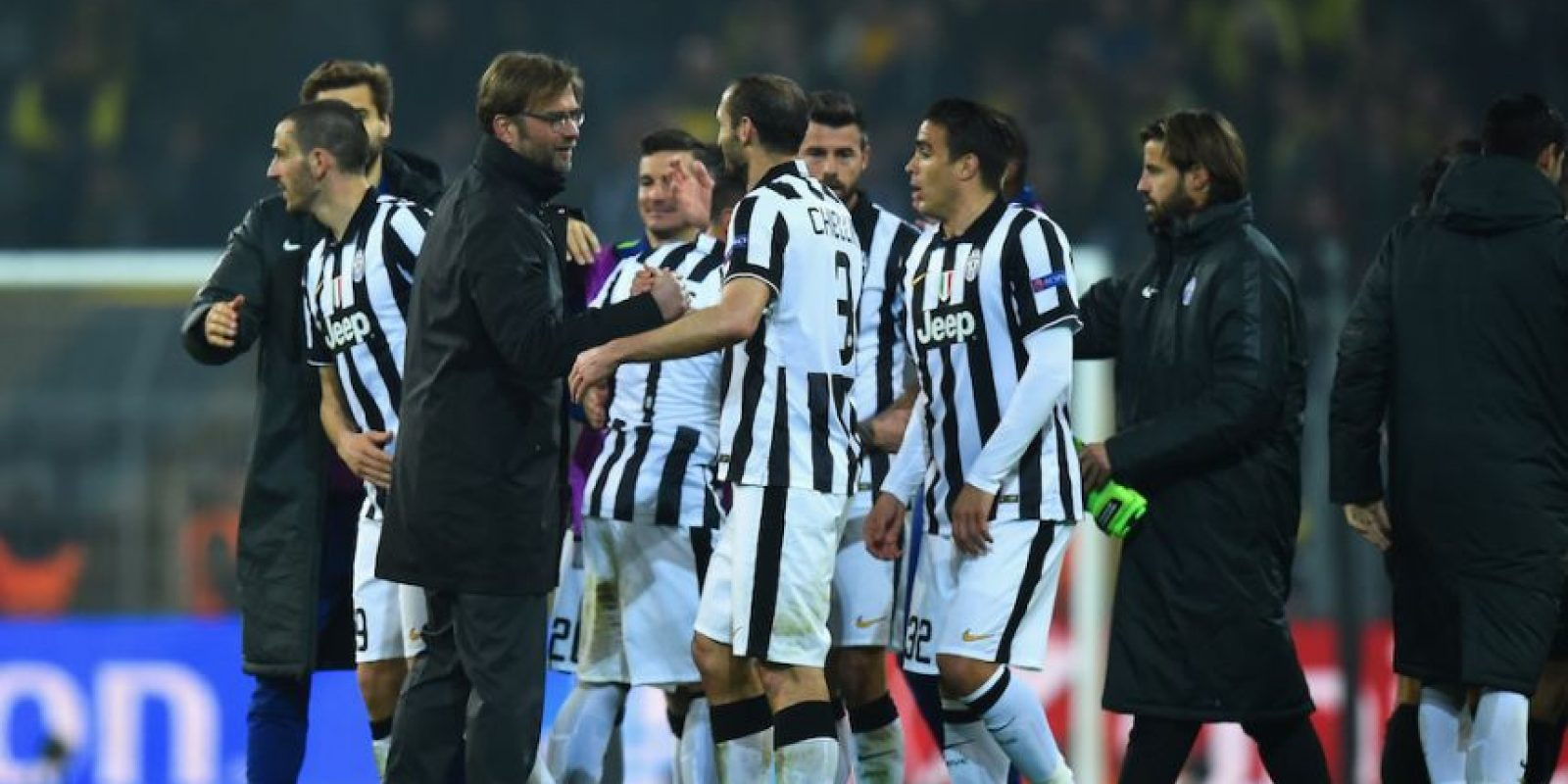 Juventus de Italia avanzó a cuartos de final por marcador global de cinco goles a uno. Foto:Getty Images