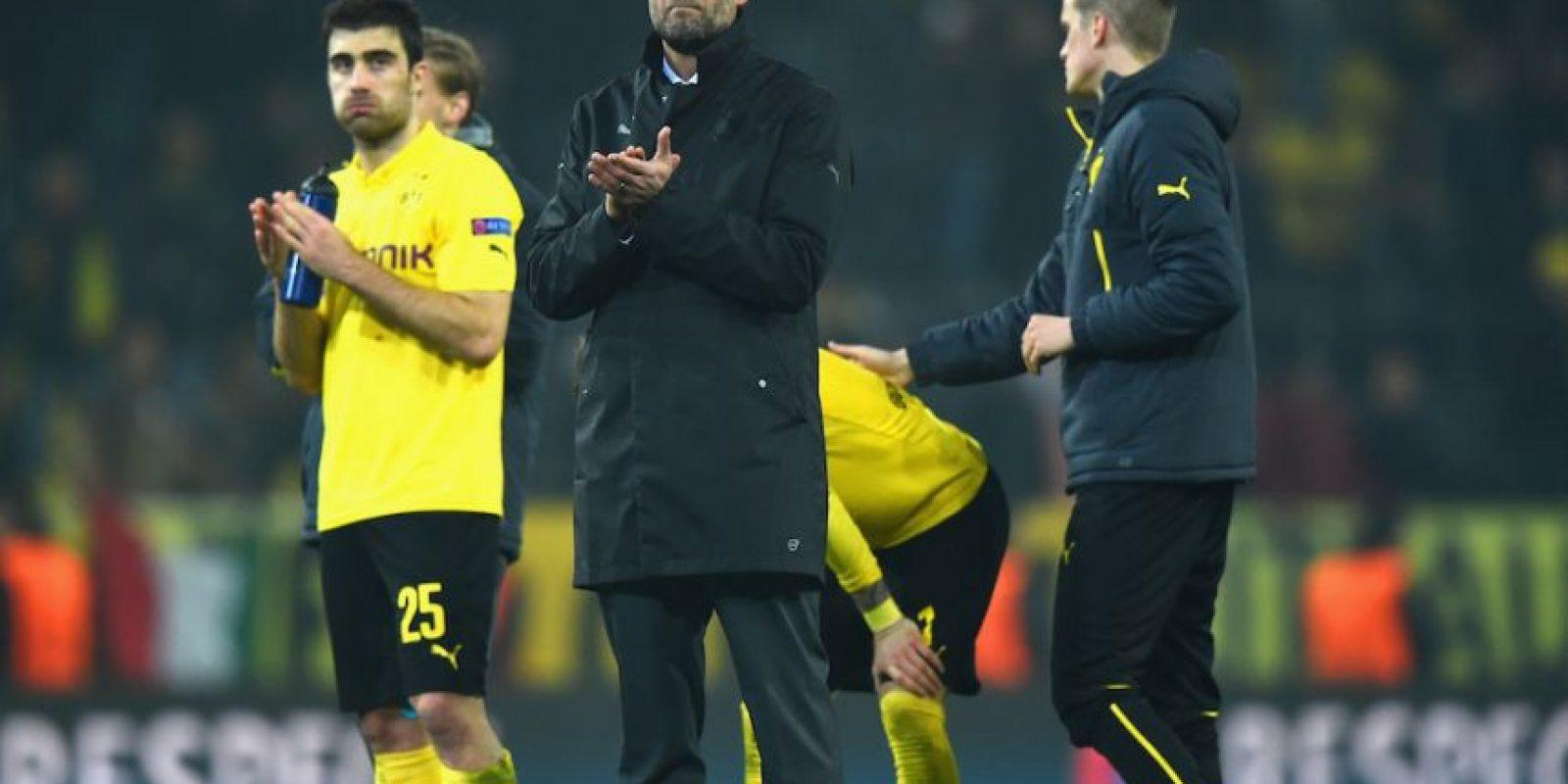 El club alemán fue eliminado en octavos de final de la UEFA Champions League. Foto:Getty Images