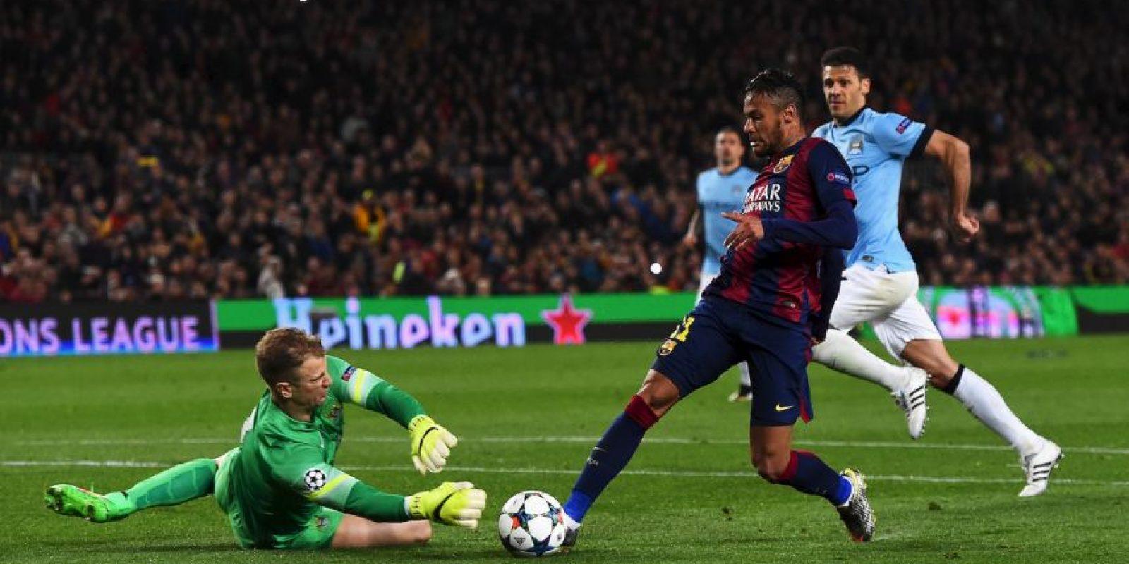 Aunque Manchester City fue eliminado por Barcelona en los octavos de final de la Champions Foto:Getty Images