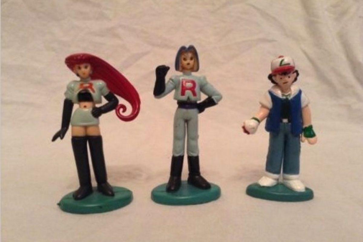 Las figuras de los personajes Foto:Ebay