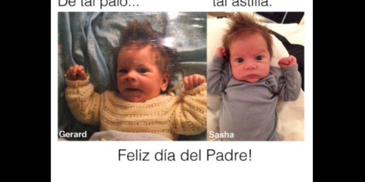 FOTO: ¡De tal palo tal astilla! Gerard Piqué y su hijo son idénticos
