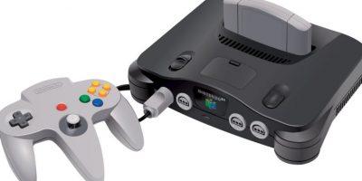 Nintendo 64. Lanzado el 13 de mayo de 1996. 32.9 millones de unidades vendidas. Foto:Nintendo