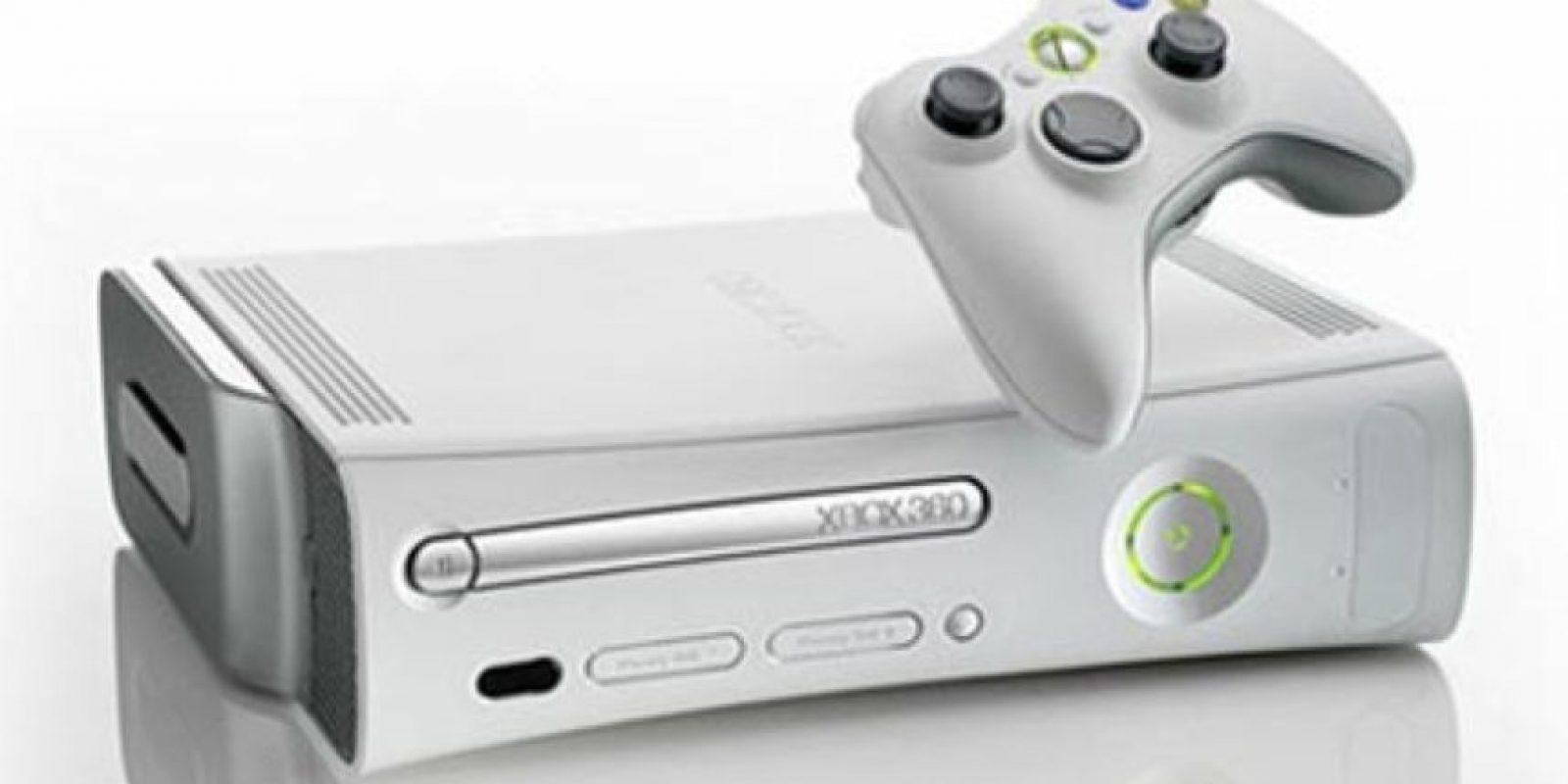 Xbox 360. Lanzada el 22 de noviembre de 2005. Foto:Microsoft