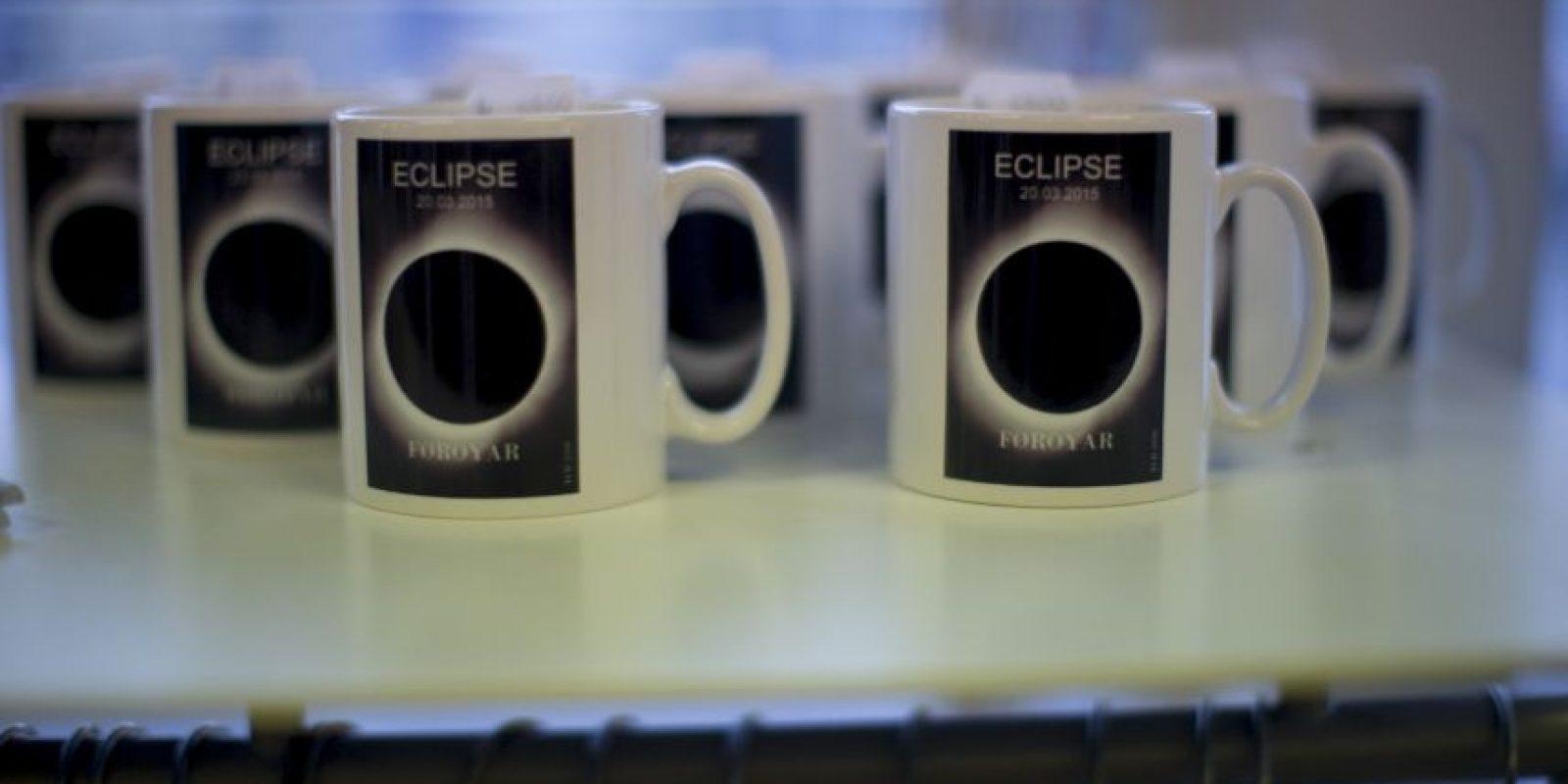 También se venden tazas conmemorativas Foto:AP