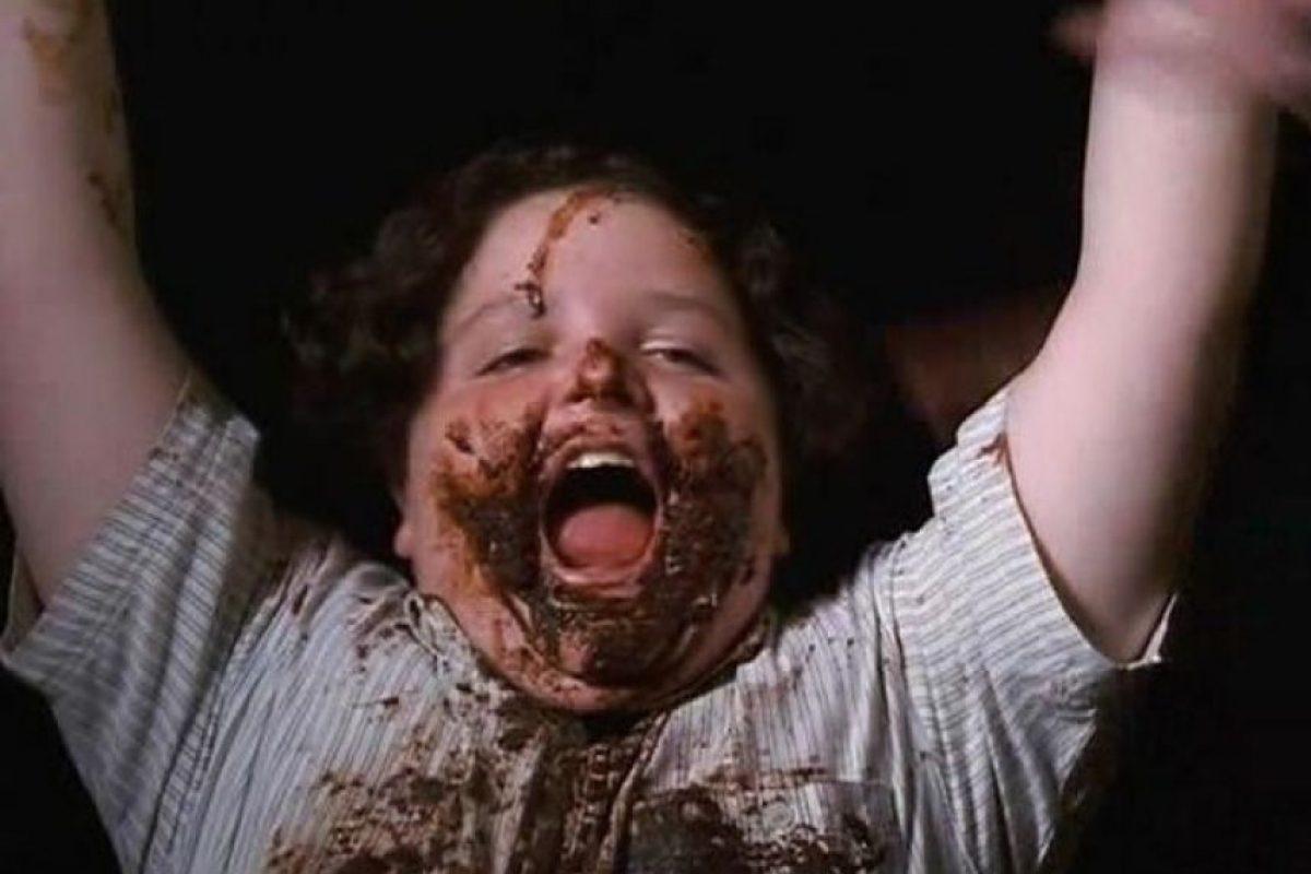 """Jim Karz protagonizó esta famosa escena de la película """"Matilda"""" Foto:YouTube"""