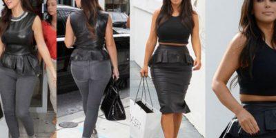 Tampoco Kim Kardashian. Foto:Getty Images