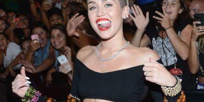 """Hay que decir a favor de Miley Cyrus que ha """"mejorado"""" bastante. Foto:Getty Images"""