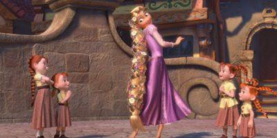 Se debe secar el pelo con suavidad. Foto:Disney