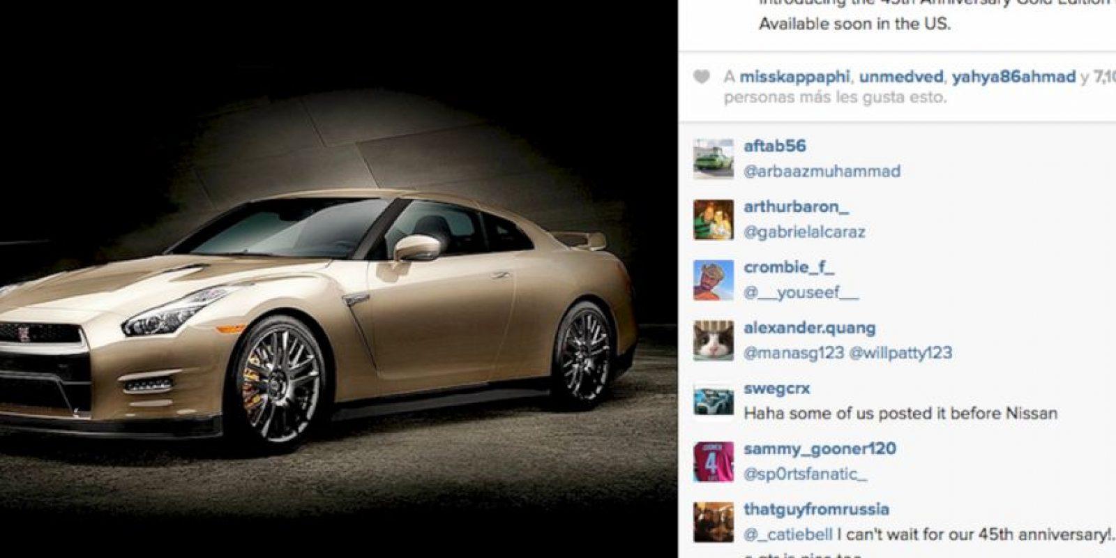 Aquí un ejemplo de la empresa Nissan que logró más de siete mil likes en esta foto dentro de su perfil de Instagram. Foto:Instagram @nissan
