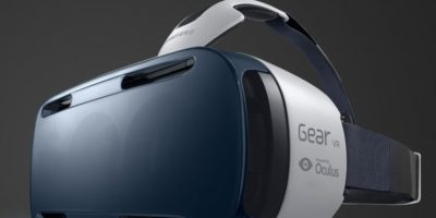 Así lucen los lentes Samsung Gear VR. Foto:Getty