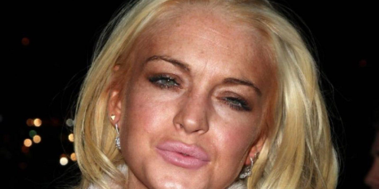Lindsay… oh, Lindsay. Tienes un historial grande. Foto:Getty Images