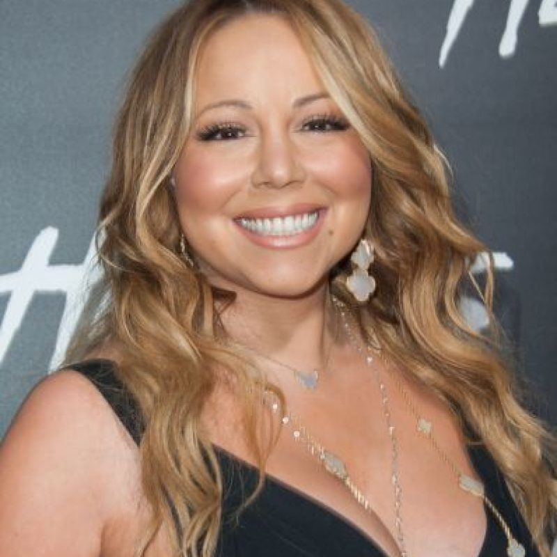Mariah Carey y su peso. Foto: Getty Images