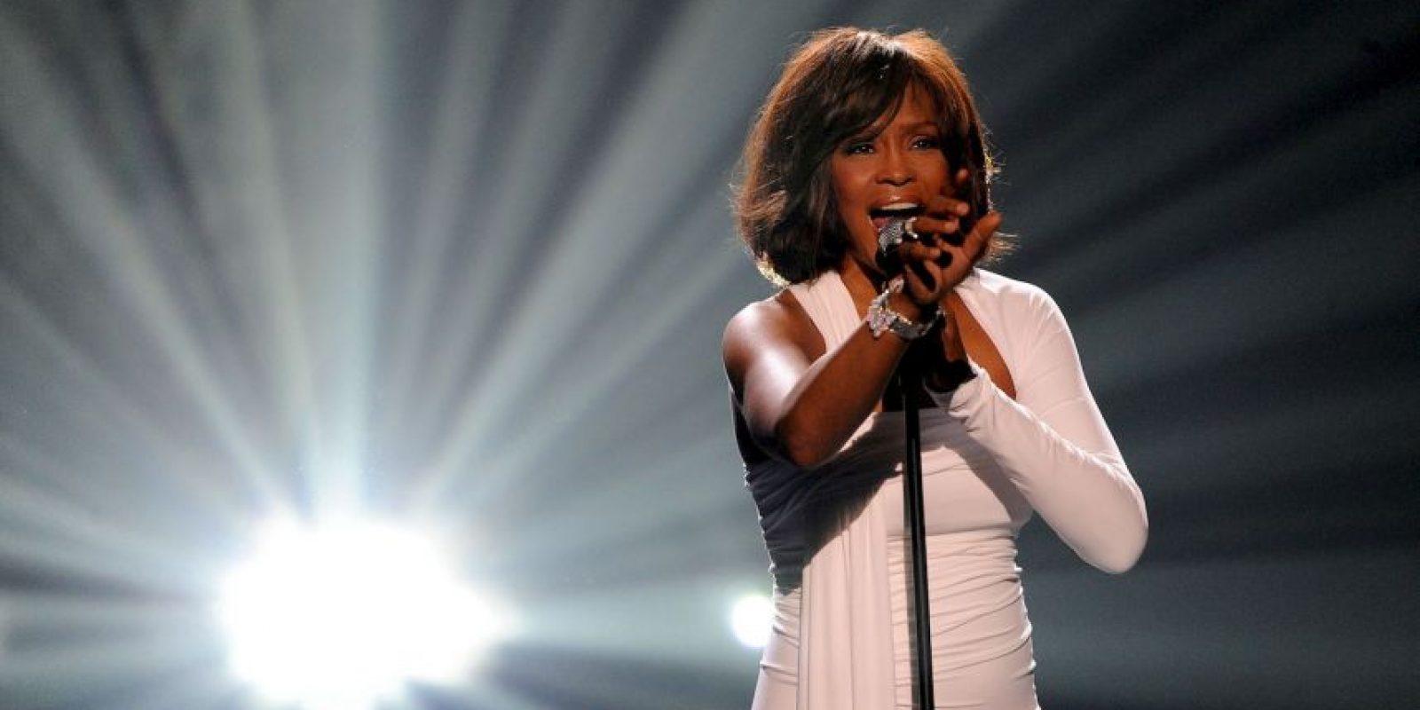 Whitney fue cantante y se destacó como actriz Foto:Getty
