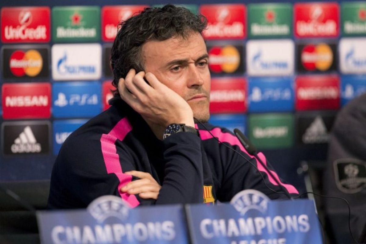 El técnico del Barcelona que jugó para este club y para el Madrid tiene un historial importante en los clásiscos. Foto:AFP