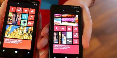 Desde el Windows 8, Microsoft también apuesta por desarrollo de plataformas móviles, como lo es su Windows Phone. Foto:Getty