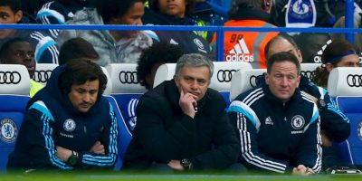 Mou fue eliminado en los octavos de final de la Champions League Foto: Getty Images