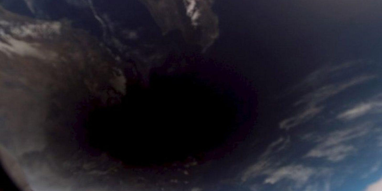 Eclipse solar desde el espacio Foto:Vía http://www.nasa.gov/