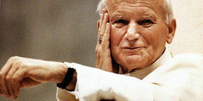 Una reliquia del Santo Juan Pablo II está en el país