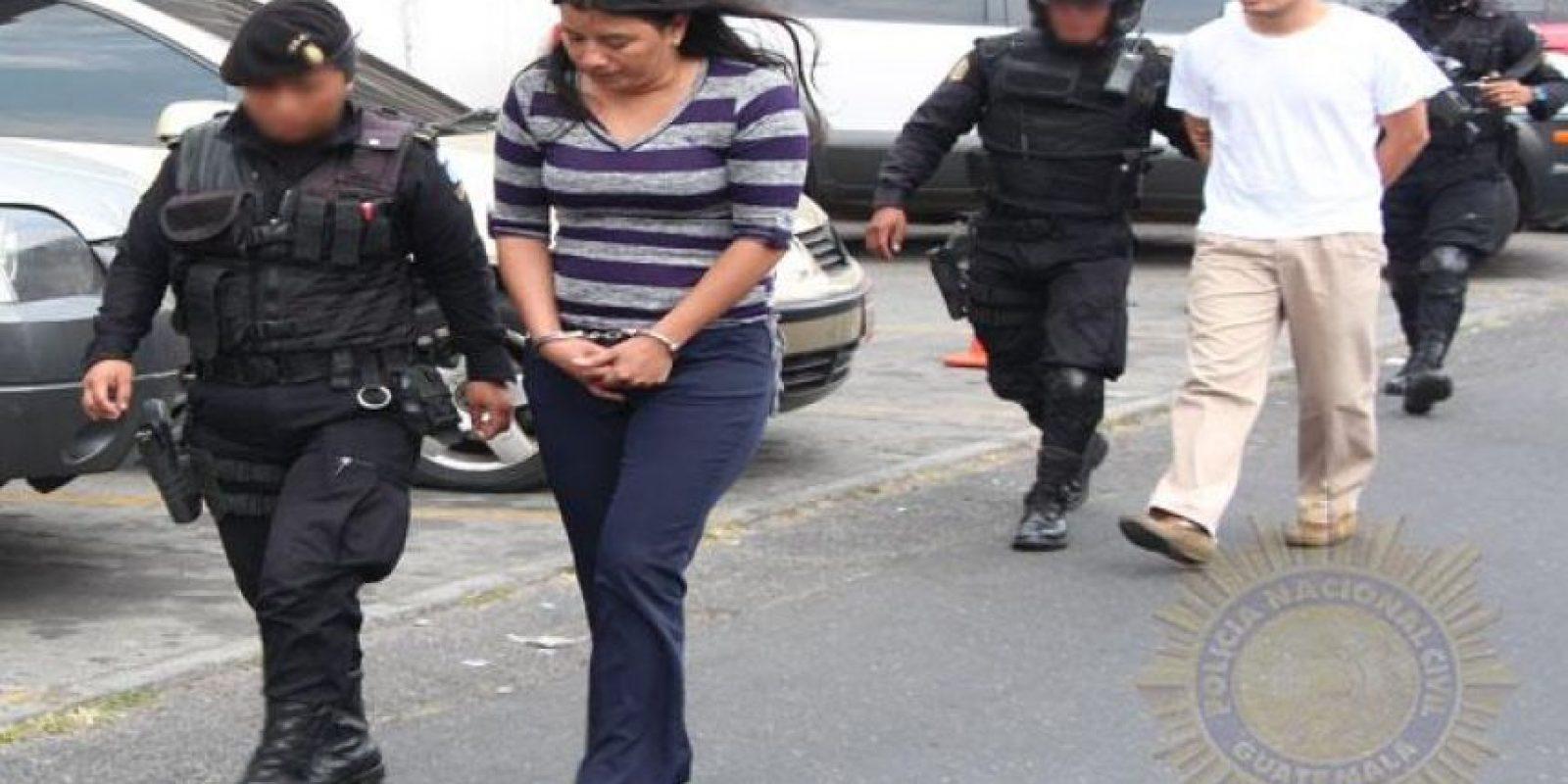 Los detenidos fueron trasladados a la Torre de Tribunales. Foto:PNC