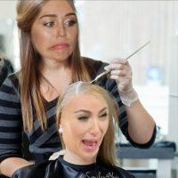5.- Se burló de la nueva cabellera rubia platinada de Kim Foto:Instagram @mileycyrus